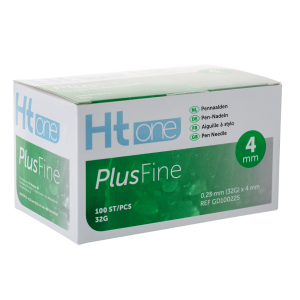 Ht One Plusfine pennaalden 4mm 32G (100)