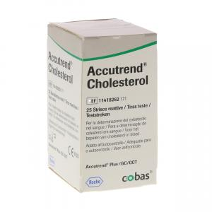Accutrend Cholesterol Teststrips
