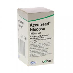 Accutrend Glucose Teststrips