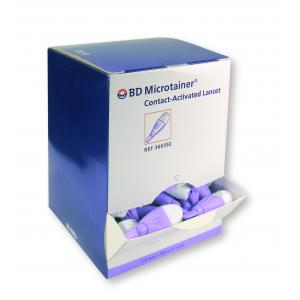 BD Microtainer Contact-Activated Veiligheids Lancetten (Paars)
