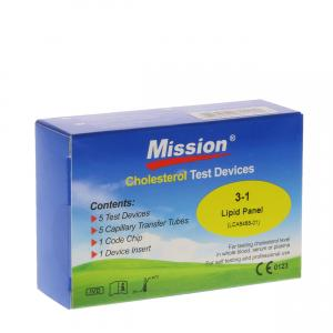 Mission Cholesterol 3-in-1 Teststrips