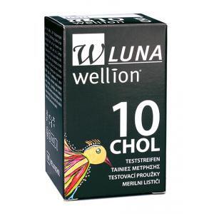 Wellion LUNA Cholesterol Teststrips (10 st)