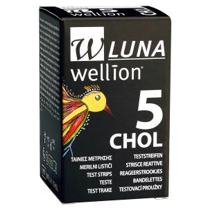 Wellion LUNA Cholesterol Teststrips (5 st)